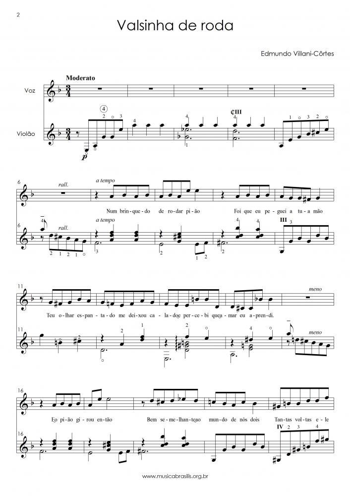 Valsinha de roda (voz e violão) (1978)