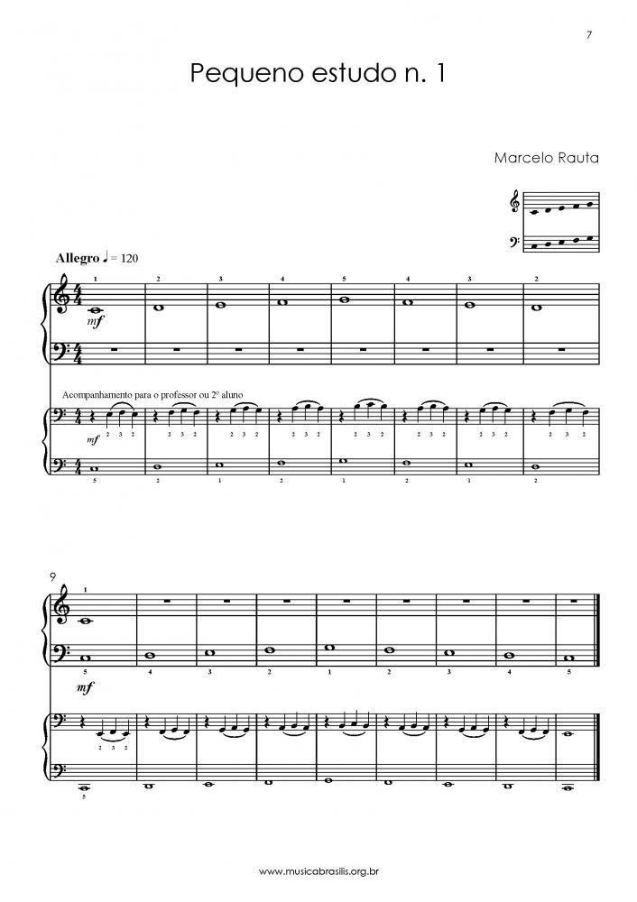 30 pequenos estudos para piano (1995)