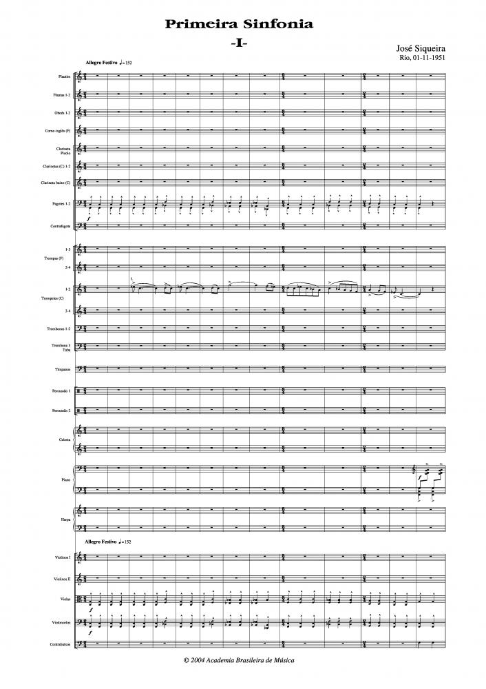 Sinfonia n.1 (1951)