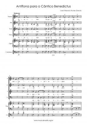Antífona para o Cântico Benedictus (1798)