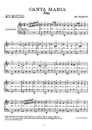 Canta Maria (acordeão)