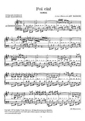 Foi ela (acordeão) (1935)