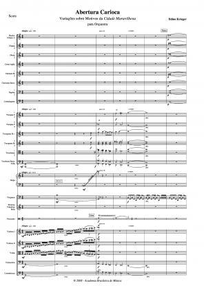 Abertura carioca para orquestra (2008)