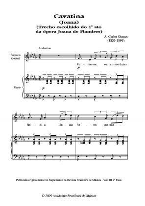 Cavatina (Joana) (1863)