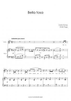 Bella tosa (voz e piano) (1884)