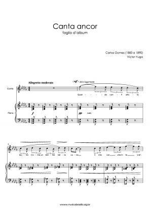 Canta ancor (voz e piano) (1883)