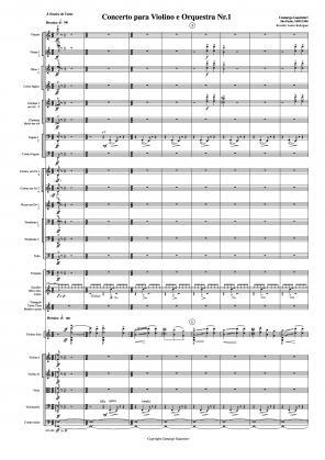 Concerto nº 1 para violino e orquestra (18/01/1940)