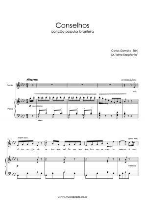 Conselhos (voz e piano) (1884)