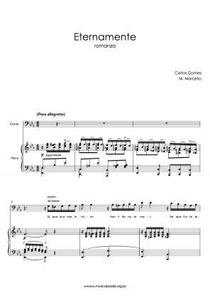 Eternamente (voz e piano) (1867)