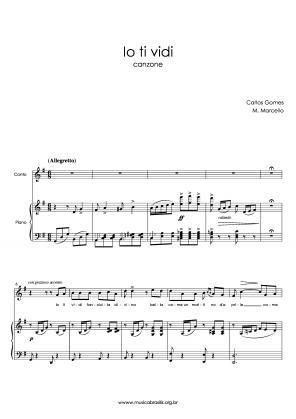 Io ti vidi (voz e piano) (1866)