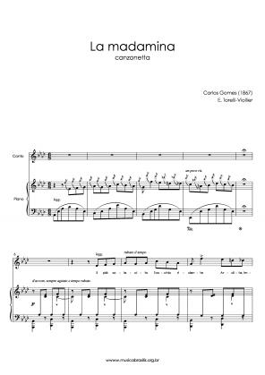 La madamina (voz e piano) (1867)