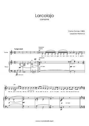 Larcolajo (voz e piano) (1885)