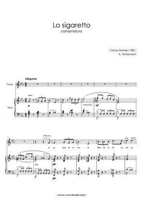 Lo sigaretto (voz e piano) (1881)