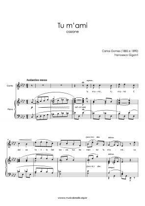 Tu m'ami (voz e piano) (1885)