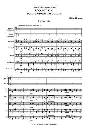 Concerto para 2 violões e cordas (1994)