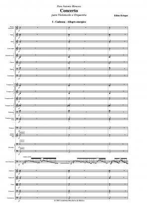 Concerto para violoncelo e orquestra (2005)