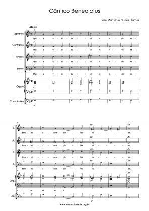 Cântico benedictus (1798)