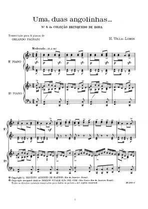 Brinquedo de roda n.4 (dois pianos)  (1912)