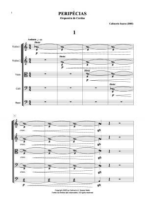 Peripécias para orquestra de cordas (2005)