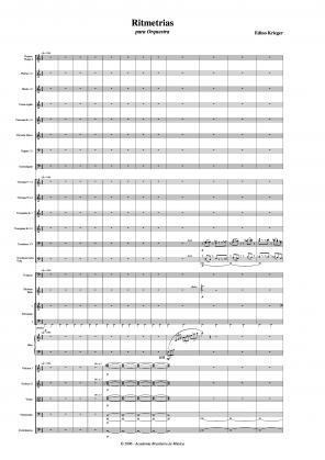 Ritmetrias para orquestra (2006)