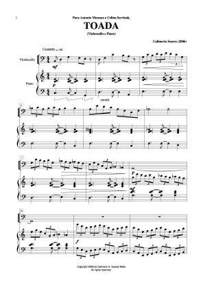 Toada para violoncelo e piano (2006)