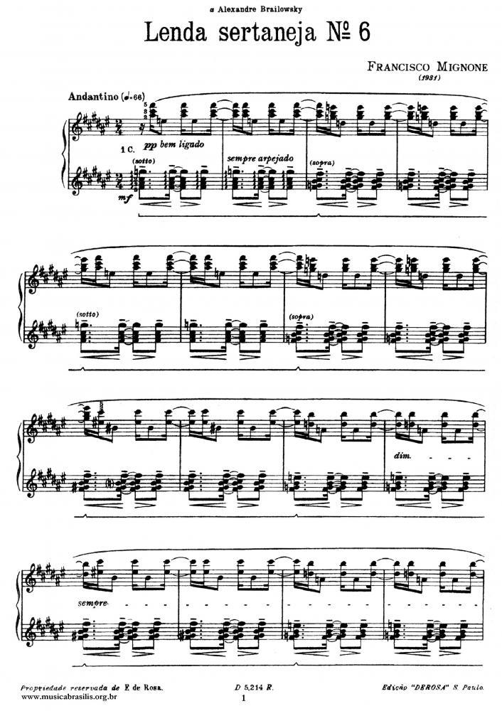 Lenda sertaneja nº 6 (1931)