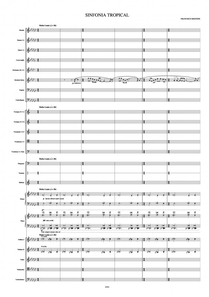 Sinfonia tropical (1958)